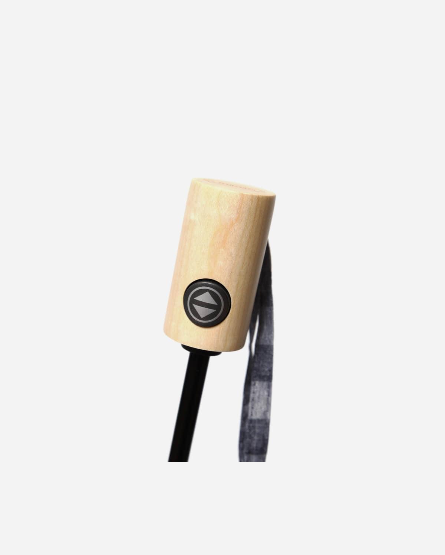 파라체이스(PARACHASE) 3257 스퀘어 패턴 패브릭 포플러 전자동 3단 우산 양산 겸용