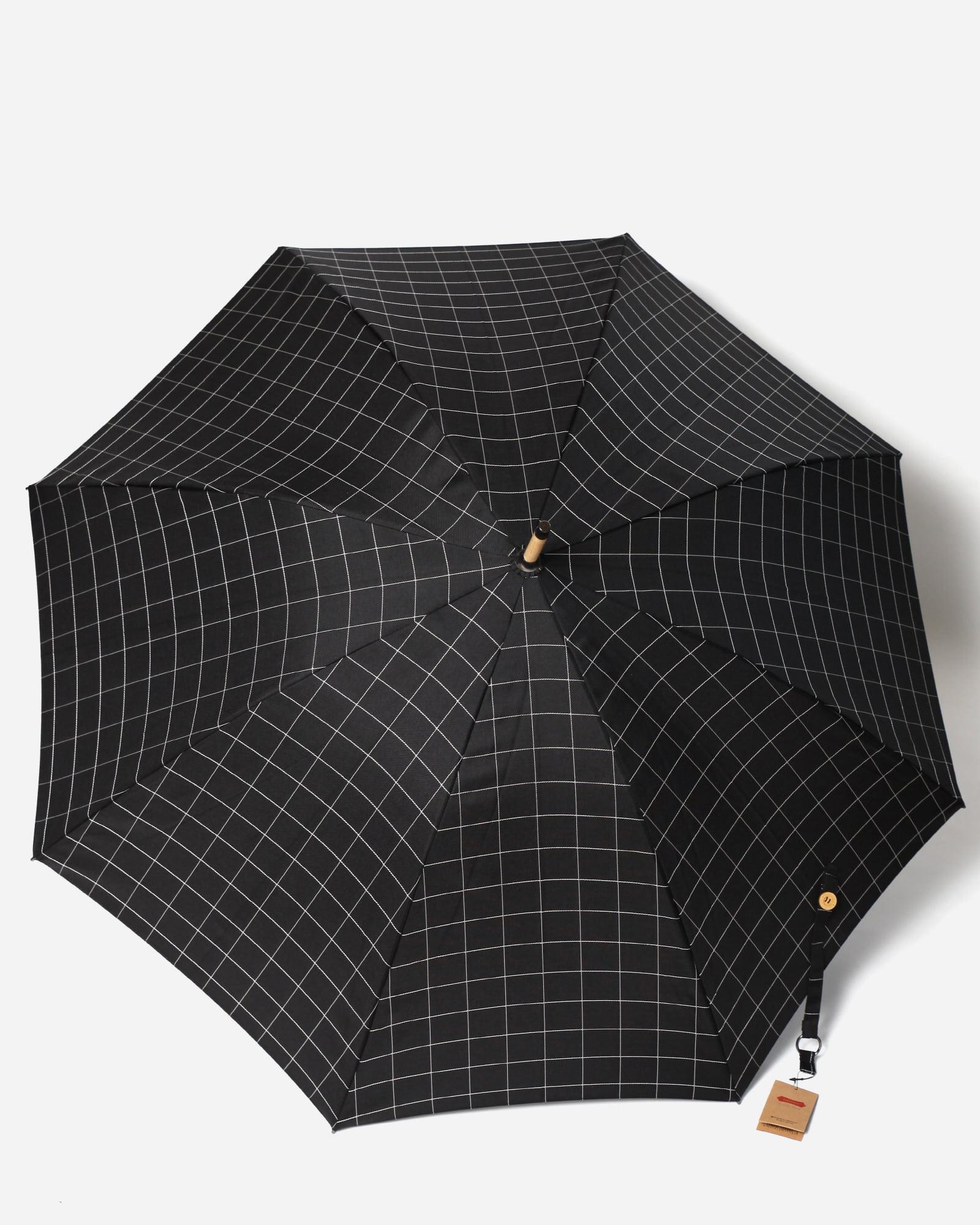 파라체이스(PARACHASE) 1118 포플러우드 그립 샤프체크 소프트 슬라이딩 수동 장우산