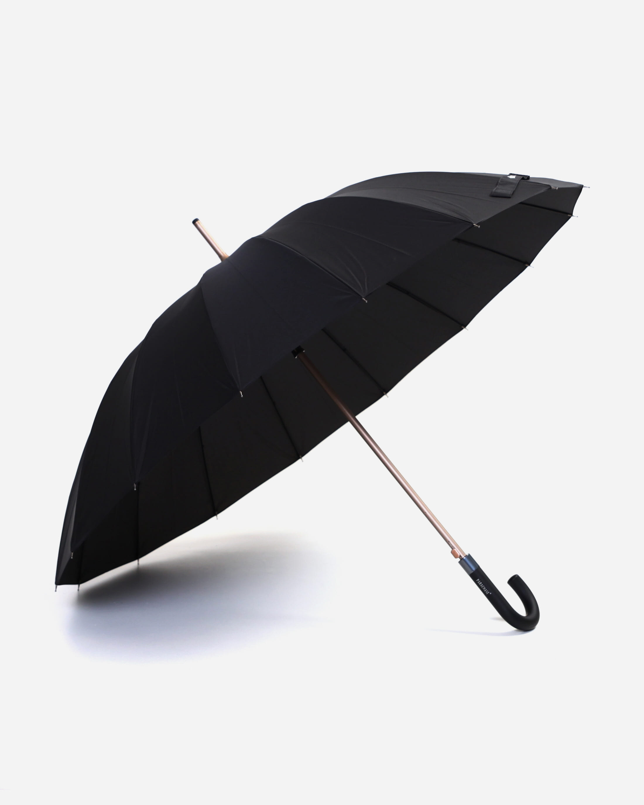 파라체이스(PARACHASE) 1019-1 로즈골드 메탈릭 16패널 장우산